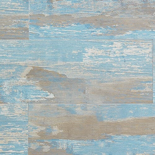 antique blue pvc wall panel rustic wood effect targwall