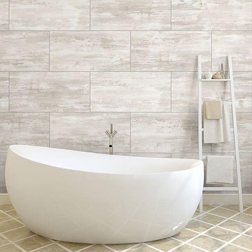 White Concrete PVC Wall Panel | Easy Fit, Hygienic & Durable | Targwall