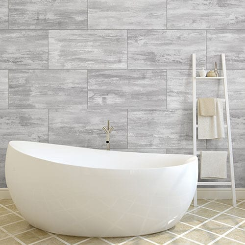 Cool Grey Concrete PVC Wall Panel Photo - pvc shower wall panels Idea