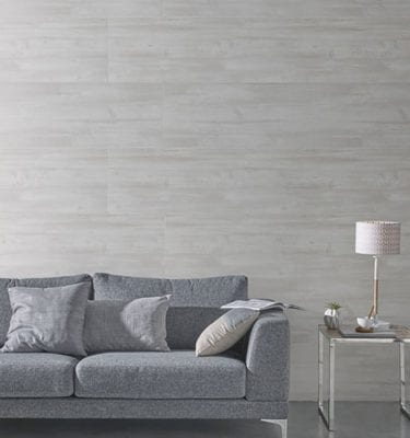 Grey Planed Wood Effect PVC Wall Panel