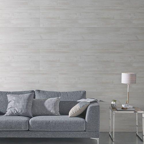 Grey Planed Wood Effect PVC Wall Panel