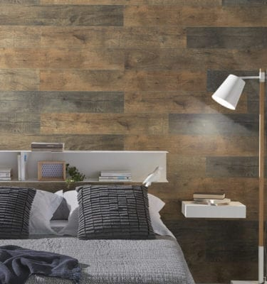 Megeve Brown - Wood Effect PVC Wall Cladding