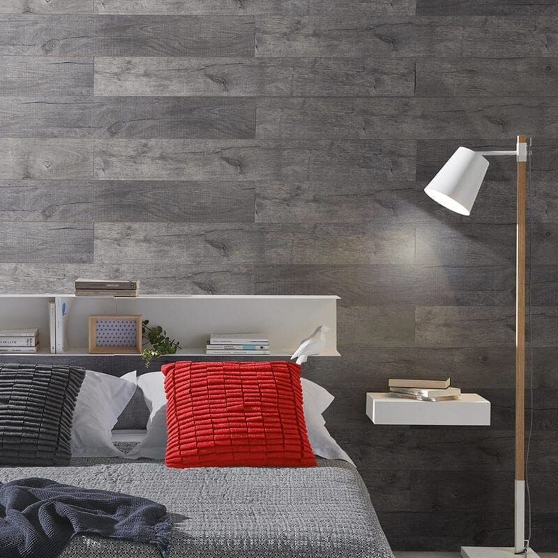 Meg 232 Ve Grey Pvc Wall Panel Wood Effect Wall Panel Targwall