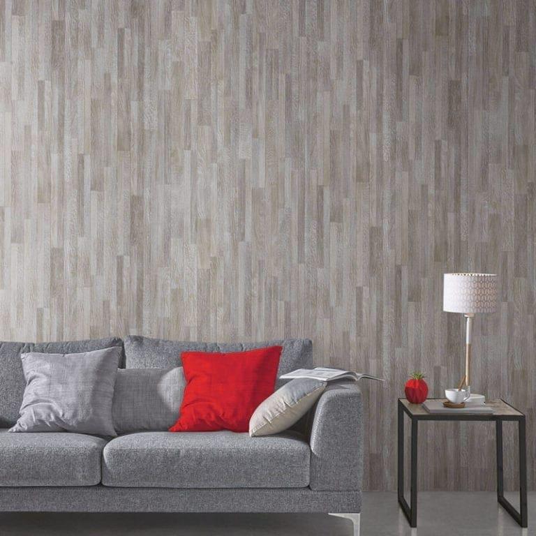 Oak Grey Effect Pvc Wall Panel Wood Effect Plastic