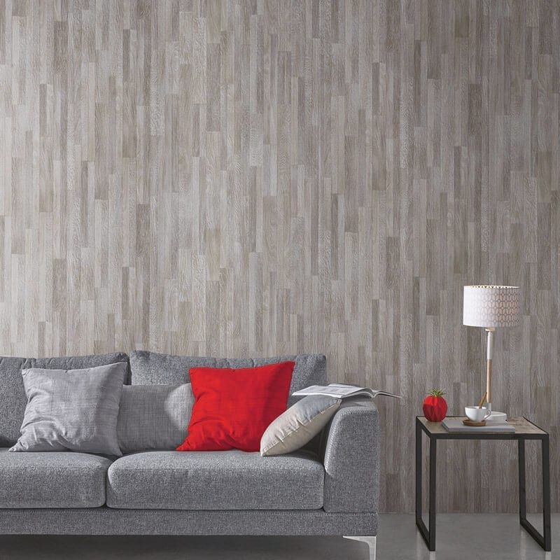 Oak Grey Effect Pvc Wall Panel Wood Effect Plastic