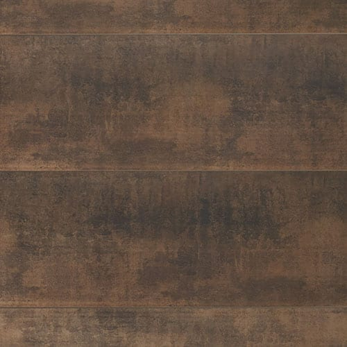 Rust Brown Pvc Wall Panel Industrial Wood Effect Wall
