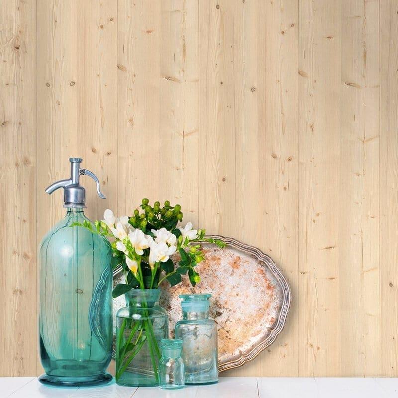 natural wood pvc wall panel wood effect wall panel targwall. Black Bedroom Furniture Sets. Home Design Ideas