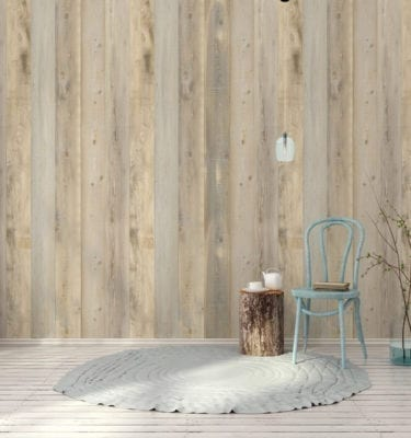 Nordic PVC Wall Cladding Light Wood