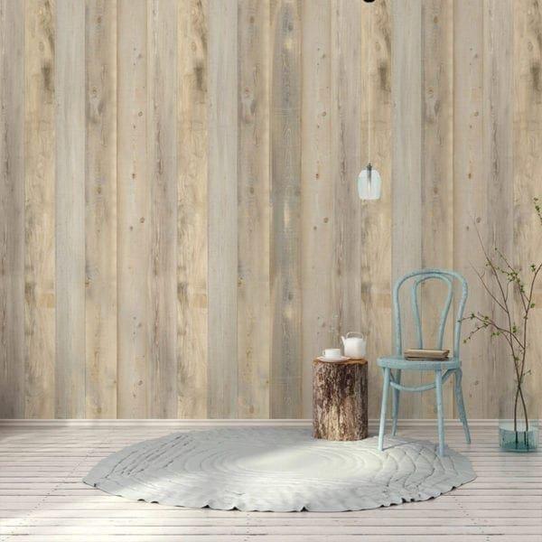 Nordic PVC Wall Cladding Light Wood
