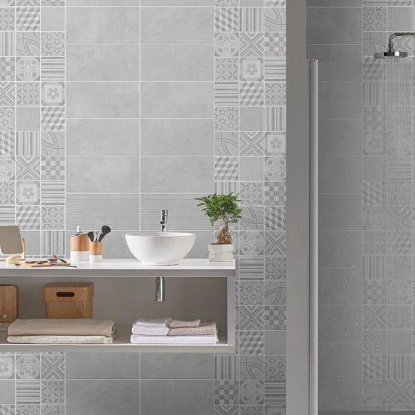 2 Tile Cement Panels - Realistic Tile Effects