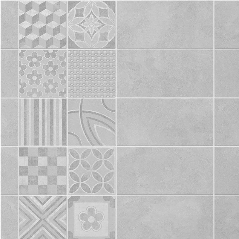 2 Tile Cement Pvc Wall Panels Mineral Stone Effect