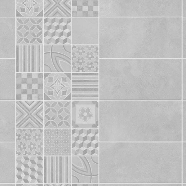 3 Tile Cement - PVC Bathroom Tiles