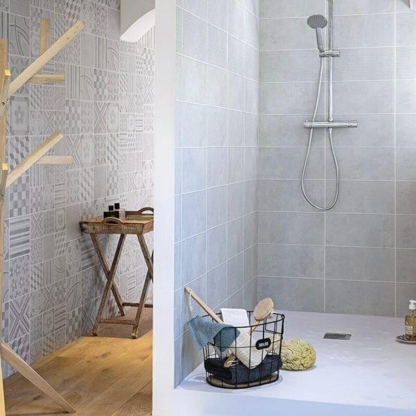 3 Tile Cement - PVC Wall Panel Tile Effects