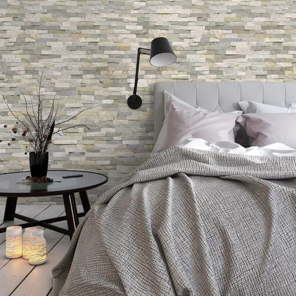 Angelo - Stone Brick Effect - PVC Wall Cladding 74975C67
