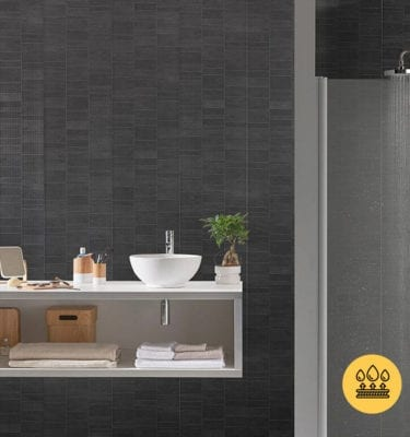 Anthracite Tile Effect Wall Panels