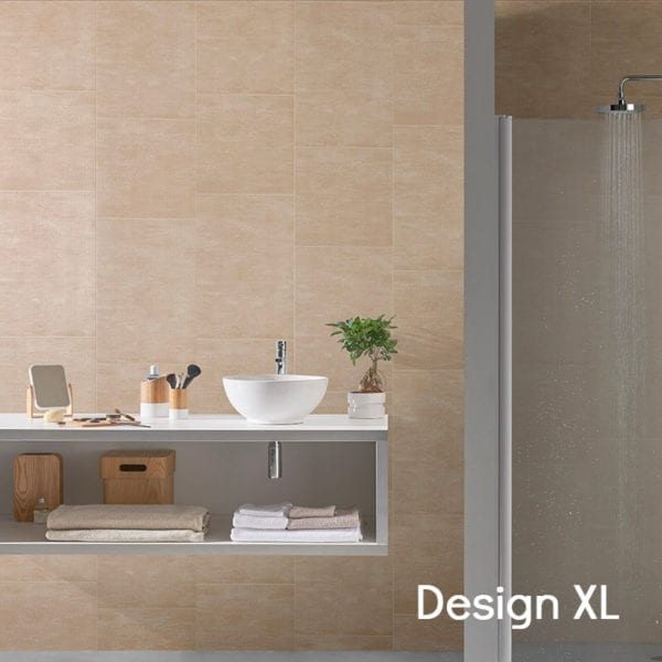 Beige Tile Effect PVC Wall Panels 74686C16-XL