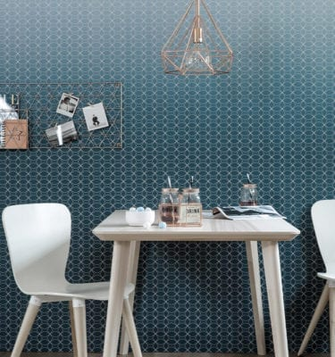 Dark Blue Scandinavian Targwall
