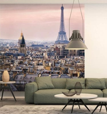 Eiffel Tower Wall Panels - Featured Wall