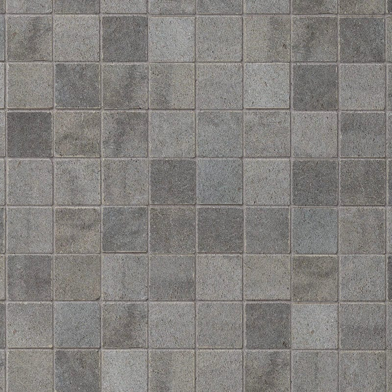 Grey Mosaic Pvc Wall Panels Mineral Stone Effect