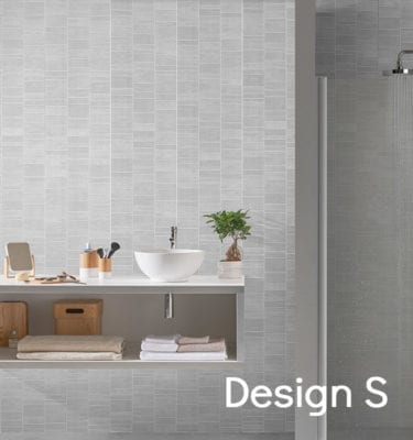 Tile Effect Wall Panels PVC Tile Cladding Targwall - Fake tile panels for bathroom walls