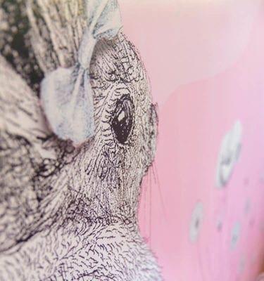 Kids Pink Ice Field - Wall Panels