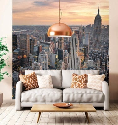 New York Wall Graphic - PVC Wall Panel