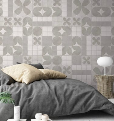 Ceramic Effect PVC Tiles - Rosace