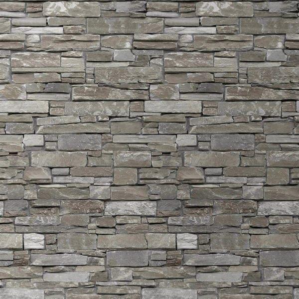 Rustic Beige Wall Cladding - Stone Brick Effect - Stone Brick Effect