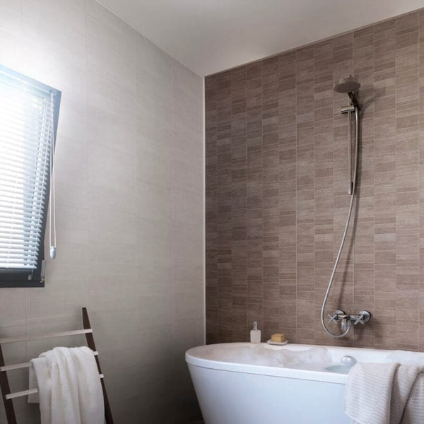 White Tile Effect Pvc Wall Panels Bathrooms Amp Kitchen