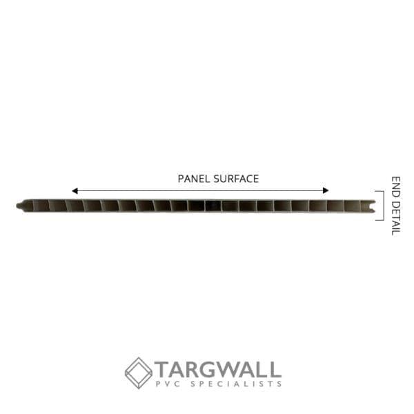Targwall End Detail