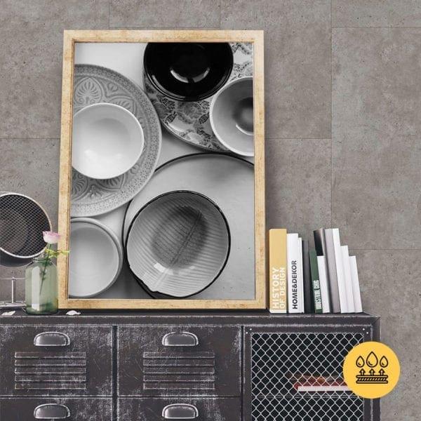 Grey Concrete Tile Effect TargwalL