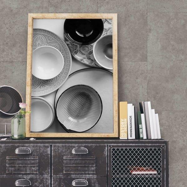 Grey Concrete Tile Effect Wall Panel
