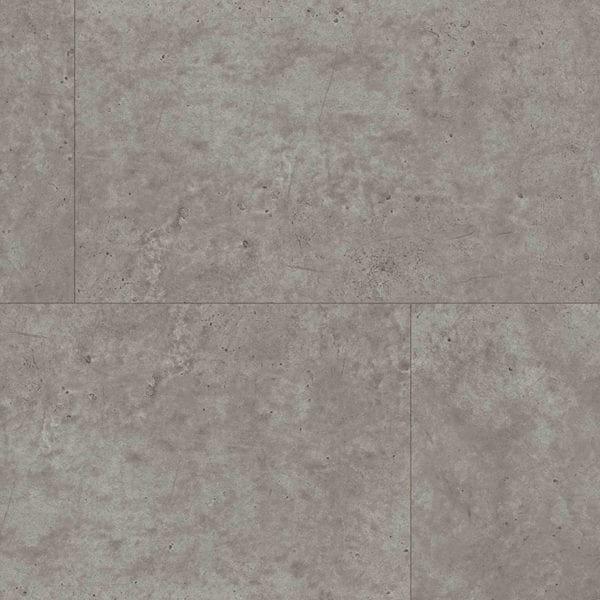 Grey Concrete Tile Effect Wall Panel Close Up