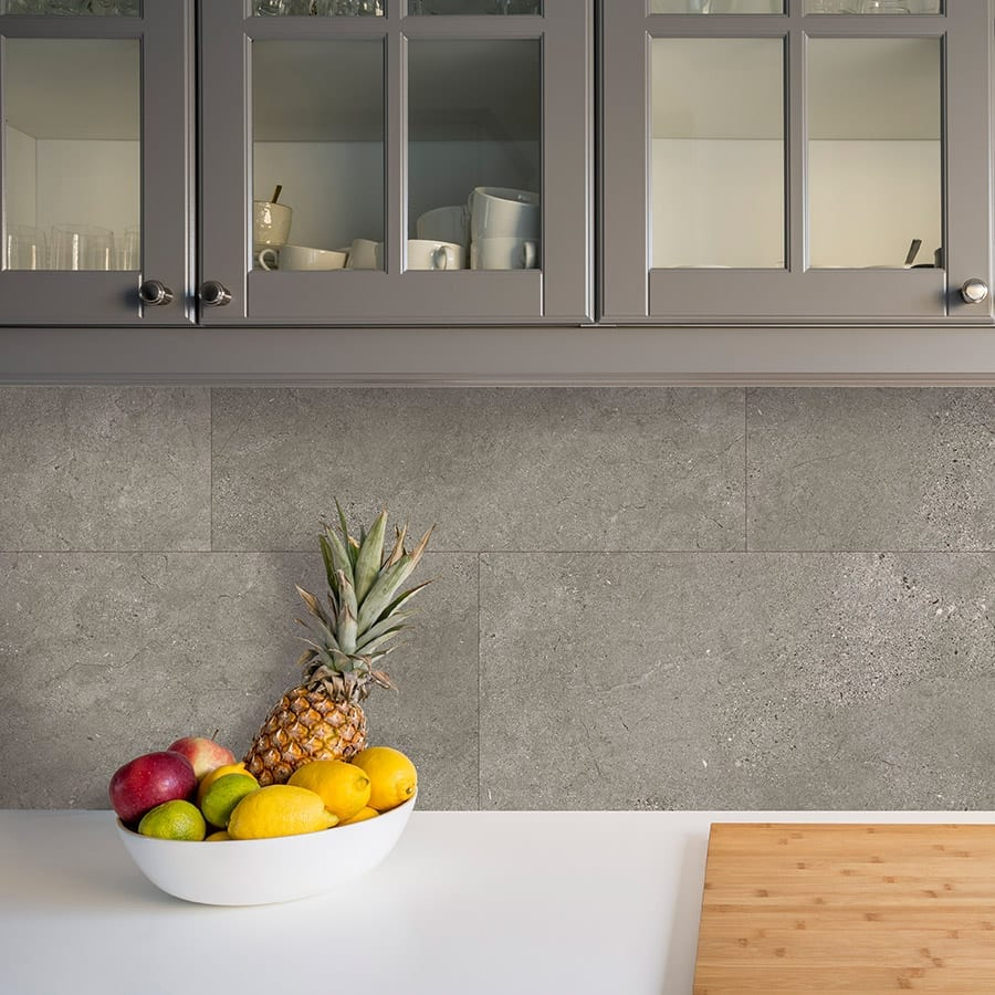 Grey Slate Kitchen Wall Tiles: Grey Slate Tile Effect Wall Panels