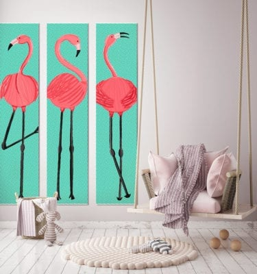 Flamingo Featured Wall copy