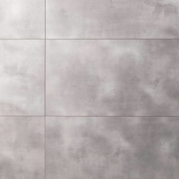 Grey Cement Tile Effect Targwall