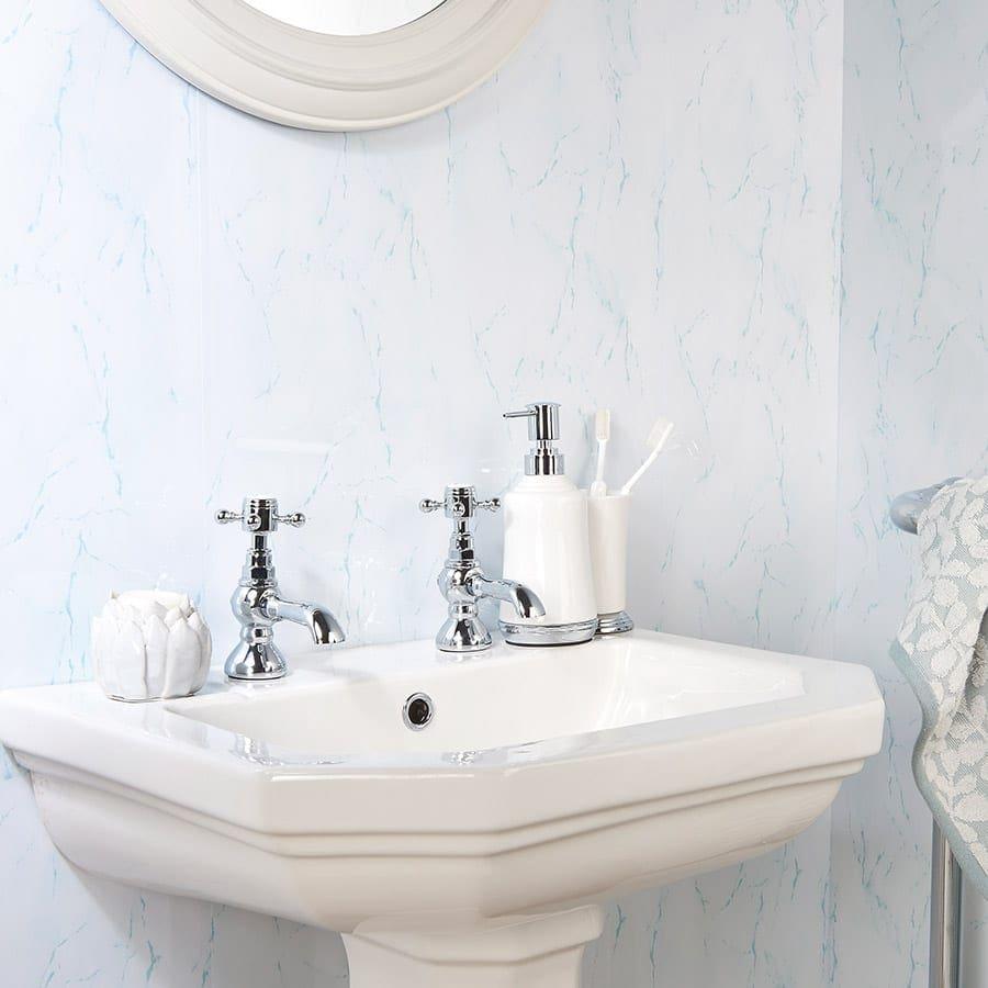 ice blue gecko bathroom pvc wall panel 2600 x 250 x 5mm