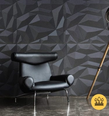 GLACIER SMOKED GREY – GEOMETRIC INTERLOCKING