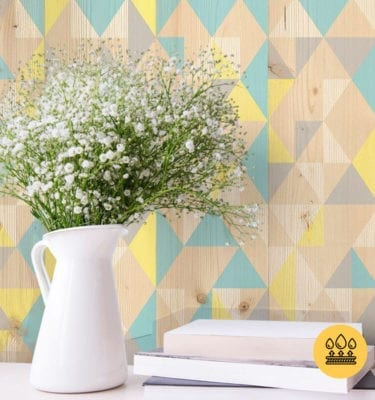 GYPSY – BLUE YELLOW PVC WALL PANEL