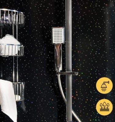 NIGHT SKY GECKO SHOWER WALL PANEL – 2400 X 1000 X 10MM