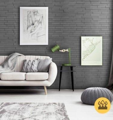 PIANO STEP SMOKED GREY – INTERLOCKING PVC WALL PANEL