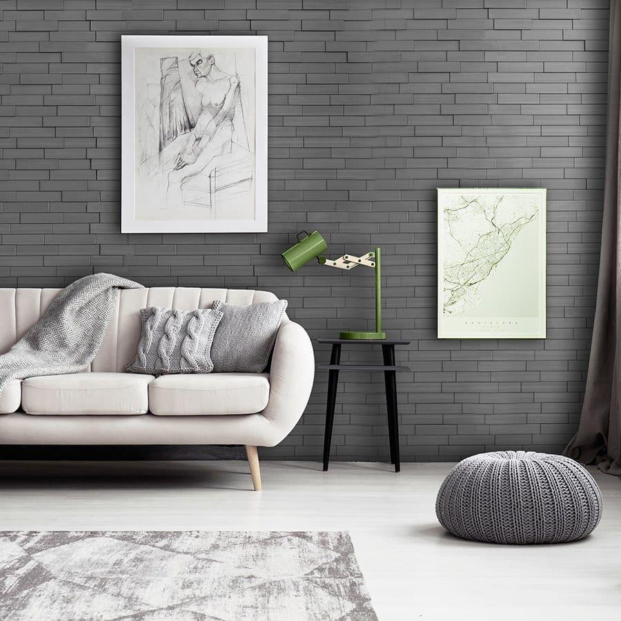 Piano Step Dark Okasha PVC Wall Panels   Lightweight ...