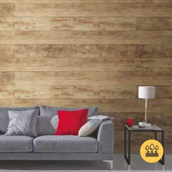 RUSTIC BROWN PVC WALL PANEL – PREMIUM