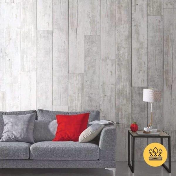 RUSTIC WHITE MIX PVC WALL PANEL – PREMIUM