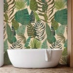 Jungle Leaf Wood Wall Panel